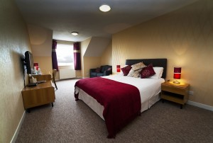 Double Bedrooms at the Myrtle Hotel